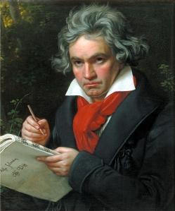 Beethoven, geschilderd door Joseph Karl Stieler, 1819