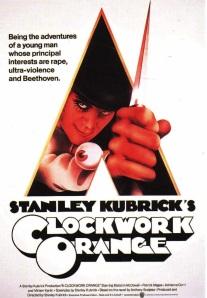 Affiche van Kubricks Clockwork Orange