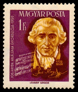 Haydn-postzegel