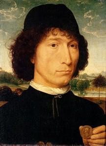 Hans Memling: Man met munt (1485)