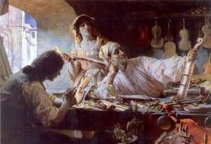 Edgar Bundy: Stradivarius (1893)