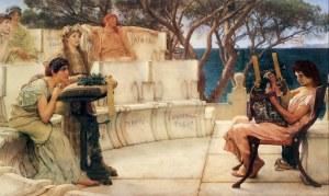 Lawrence Alma-Tadema: 'Sappho and Alcaeus'(18)