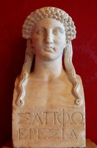 Sapfo, kopie van 6de-eeuwse buste