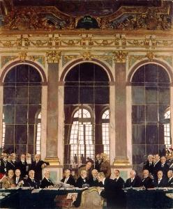 Ondertekening Vrede van Versailles, Imperial War Museum Londen