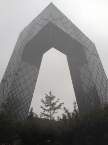 CCTV-gebouw BEIJING (foto auteur)