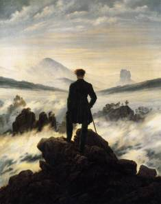 C.D. Friedrich: 'Der Wanderer über dem Nebelmeer (18)