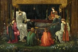 Edward Burne-Jones: 'The Last  Sleep of Arthur' (1881-1898)