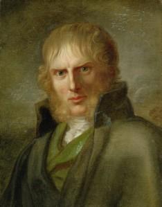 Portret van Friedrich door Franz Gerhard von Kügelgen (ca 1815)