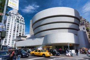 Guggenheim-museum van Frank Lloyd Wright in New York (foto Jean-Christophe Benoist)