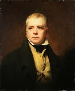 Portret van Walter Scott door Henry Raeburn (1822)