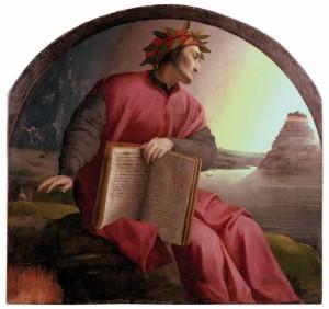 Dante, geschilderd door Bronzino