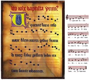 Gregoriaanse notatie in neumen