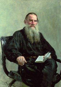 Tolstoj geschilderd door Ilja Repin
