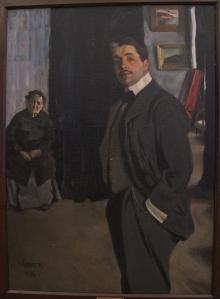 Portret van Diaghilev door Bakst (1906)