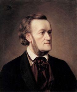 Richard Wagner, ca 1862, geschilderd door Caesar Willich