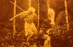 De dood van Siefried in de film van Fritz Lang