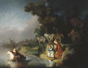 Rembrandt: 'De ontvoering van Europa'