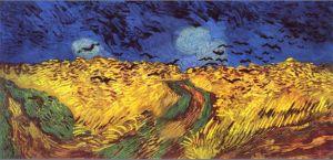 Korenveld met kraaien (1890, Van Gogh Museum)