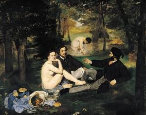 Manets 'Déjeuner sur l'herbe' (1863, Musée d'Orsay)
