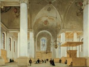 Pieter Saenredam: 'De Nieuwe- of Sint Annakerk te Haarlem' ()