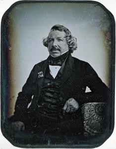 Daguerrotypie van Louis Daguerre, 1844