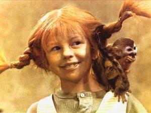 Inger Nilsson als Pippi in de televisieserie