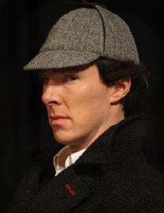 Benedict Cumberbatch in de recenste Sherlock Holmesbewerking voor televisie
