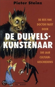 Omslag 'De duivelskunstenaar' (Prometheus, 2010)
