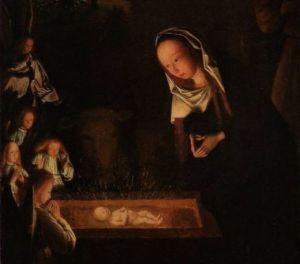 Geertgens 'Geboorte van Christus' (National Gallery)