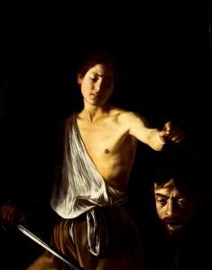 Caravaggio's 'David en Goliath'