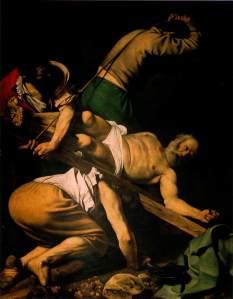 Caravaggio's 'Kruisiging van Petrus'