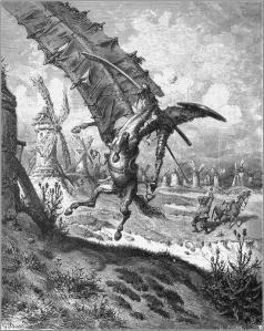Illustratie van Gustave Doré voor 'Don Quichot'