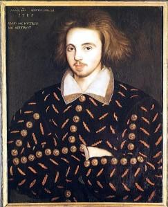 Anoniem portret van Christopher Marlowe (1585)