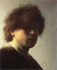 Rembrandt: 'Zelfportret als een jonge man'