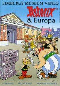 Poster voor een reizende Asterix-tenoonstelling