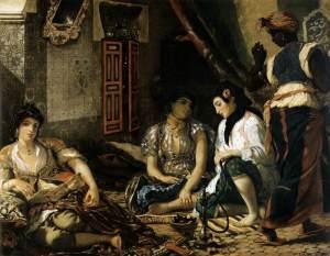 'Les femmes d'Alger' (foto Web Gallery of Art / WC)
