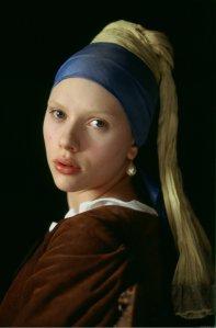 Scarlett Johansson als het meisje met de parel