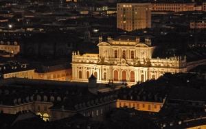 Het barokke Carignano-paleis in Turijn (architect Guarini, foto dalbera, WC)