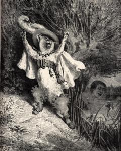 De Gelaarsde Kat door Gustave Doré