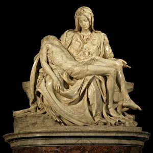 Michelangelo's Pietà in de Sint-Pieter (foto Stanislav Traykov, WC)