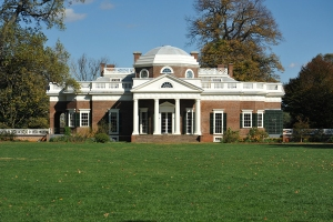 Jeffersons Monticello in Virginia (foto Christopher Hollis for Wdwic Pictures)
