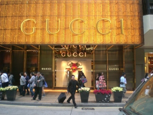 Gucci-winkel in China (foto Maizeam, WC)