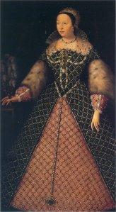 Catharina de' Medici, ca 1555 (Uffizi-museum, WC)