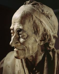 Voltaire door Jean-Antoine Houdon (ca 1785)