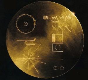 De Gouden Plaat van de Voyager, met daarop de Bulgaarse volksmuziek