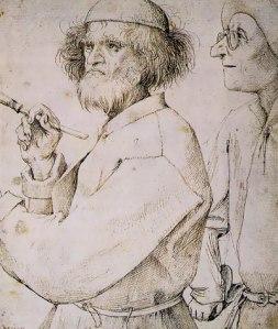 Vermeend zelfportret van Bruegel