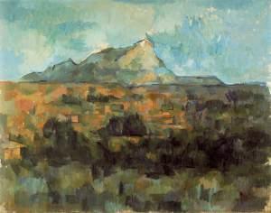 Paul Cézanne: La montagne Saint-Victoire (1906)