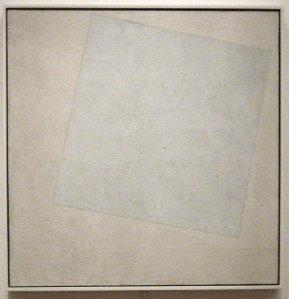 Kasimir Malevitsj: Suprematistische compositie: wit op wit (1918)