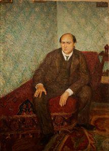 Richard Gerstl: Arnols Schönberg (1905-06, foto Yelkrokoyade)