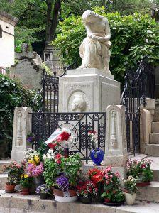 Chopins graf in Parijs (foto L. Marcin / WC)